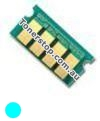 Picture of Cyan Compatible Toner Reset Chip - suits Xerox DocuPrint CM225fw