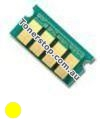 Picture of Yellow Compatible Toner Reset Chip - suits Xerox DocuPrint CM225fw