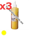 Picture of Yellow Compatible Toner Refills (Includes 3 Toner Chips) x3 Times Yield - suits Xerox DocuPrint CM305DF