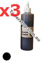 Picture of Black Compatible Toner Refills (Includes 3 Toner Chips) x3 Times Yield - suits Xerox DocuPrint CM305DF