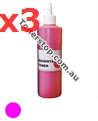 Picture of Magenta Compatible Toner Refills (Includes 3 Toner Chips) x3 Times Yield - suits Xerox DocuPrint CM305DF