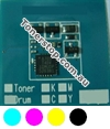 Picture of Bundled Set of 4 Compatible Toner Reset Chips - suits Xerox ApeosPort-IV C5580