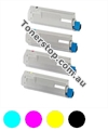 Picture of Bundled Set of 4 Compatible Toner Cartridges - suits  Anytron any-001 Digital Label Press