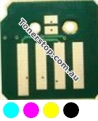 Picture of Bundled Set of 4 Compatible Toner Reset Chips - suits Xerox ApeosPort-IV C2270